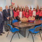 La Seap Pallavolo Aragona in visita ai piccoli pazienti dell'ospedale di Agrigento