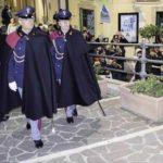 Agrigento, festività natalizie in sicurezza: in via Atenea poliziotti in alta uniforme