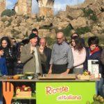 """""""Ricette all'italiana"""" a Montevago, il vecchio centro trasformato in un set televisivo"""