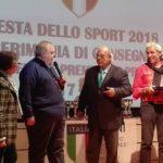 Festa dello Sport, il Coni premia la Seap Aragona per la promozione in serie B2
