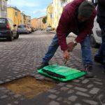 Agrigento, si riparano le buche stradali: continuano gli interventi di manutenzione – FOTO
