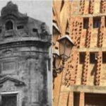 Agrigento, Chiesa di Santa Rosalia: un telo artistico come facciata in attesa dei lavori