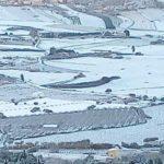Anche ad Agrigento arriva la neve: strade bianche in tutta la provincia