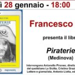 """Alla Feltrinelli di Catania la presentazione del libro """"PIRATERIE-Riflessioni brevi di vita social"""" di Francesco Pira"""