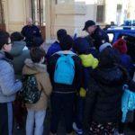 """""""Train … to be cool"""", studenti in treno da Aragona ad Agrigento con gli operatori della Polizia Ferroviaria"""