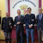 Agrigento, il Questore Auriemma incontra i nei promossi Sostituto Commissario e Ispettore Superiore