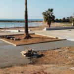 Proseguono i lavori al piazzale Giglia: presto fruibile l'Agorà di San Leone