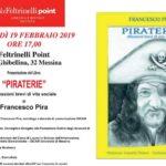 """Messina, alla Feltrinelli Point la presentazione del libro """"Piraterie-riflessioni brevi di vita sociale"""""""