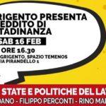 """Agrigento presente """"Reddito di Cittadinanza"""" e """"Quota 100"""""""