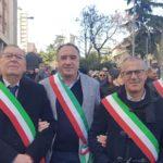 Aragona, Sindaco e Presidente del Consiglio a Caltanissetta per la mobilitazione contro l'isolamento stradale