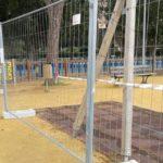 Vandali in azione ad Agrigento: recintata e interdetta area giochi