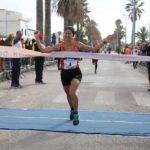 Atletica, Edna Caponnetto e Mohamed Idrissi trionfano alla mezza maratona della Concordia di Agrigento