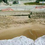 L'erosione costiera sta facendo crollare l'unica strada di Cannatello – VIDEO