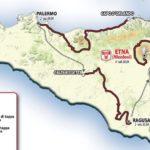 Ritorna dopo 42 anni il Giro di Sicilia, quattro tappe con arrivo sull'Etna