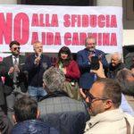 """Porto Empedocle, corteo a sostegno di Ida Carmina: """"noi siamo il cambiamento"""""""