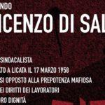 Licata, si ricorda il sindacalista Vincenzo Di Salvo