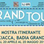 Il Grand Tour della ceramica: a Sciacca mostra di rappresentanza AICC