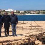 Lampedusa, consegnati i lavori per il rifacimento ed il consolidamento del molo commerciale di Cavallo Bianco