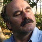 Giugiu Gramaglia sul set della  fiction televisiva di Rai 2 ''Il CACCIATORE''