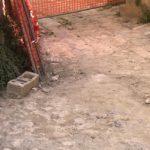 Aragona, sopralluogo dell'assessore Francesco Morreale nel cantiere a valle del Palazzo Principe Naselli