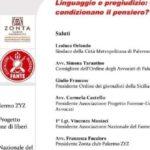"""Palermo, conferenza su """"Linguaggio e pregiudizio: le parole condizionano il pensiero?"""""""