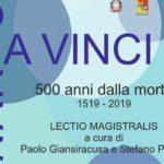 Leonardo da Vinci, 500 anni dalla morte: Lectio Magistralis all'Accademia di Belle Arti