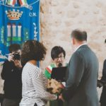 Sorpresa al castello di Naro: coppia di newyorkesi rinnovano le promesse di matrimonio