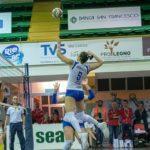 La Pallavolo Seap Aragona vince gara 1 dei playoff per la promozione in B1: Volley Ladispoli ko