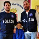 Agrigento: bimbo di 8 anni si allontana dai suoi familiari, viene rintracciato dagli agenti della Polizia di Stato