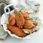 """""""Il pranzo della domenica""""- antipasti- Salvia fritta ripiena"""