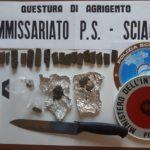 Sciacca, in possesso di hashish: arrestato 28enne