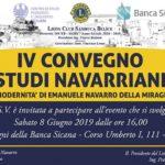XI Premio Internazionale Navarro 2019 a Sambuca di Sicilia