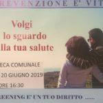 Aragona: domani un incontro per la campagna prevenzione screening oncologici