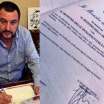 """Migranti, """"Sea Watch 3"""": Salvini firma il divieto di ingresso"""