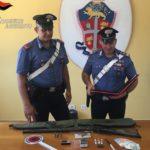 Armi e droga in casa: arrestato un giovane ventiquattrenne a Sciacca