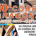 """Domenica la decima edizione della """"Corri Aragona"""""""