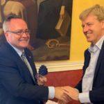 Il vice governatore della regione polacca di Lublino in visita ad Agrigento