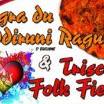 Ad Aragona la Sagra du Cuddiruni Ragunisi e il Triscele Folk Fiesta