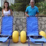 Realmonte, arrivano le sedie da mare per disabili