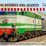 In treno storico da Catania alla scoperta dei sapori del Calatino