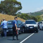 Incidente sulla statale 640: scontro fra auto, traffico in tilt