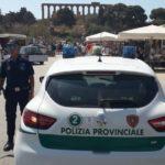 """Agrigento, """"lente d'ingrandimento"""" della Polizia Provinciale contro la sosta selvaggia"""