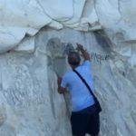 Scritte alla Scala dei Turchi: Sindaco bonifica area