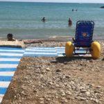 """San Leone, spiaggia """"accessibile"""" a piazzale Giglia: arriva la """"sedia job"""""""