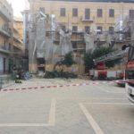 Agrigento, crollo in piazza Cavour: disposta ordinanza di sgombero dell'edificio