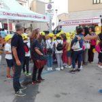 Karting in piazza: lezione sulla sicurezza del Gruppo Protezione Civile