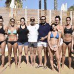 Allenamenti sulla sabbia dell'Aquaselz per la Pallavolo Aragona