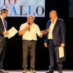 """Pallavolo Aragona: il presidente Nino Di Giacomo ritira il premio """"Barbagallo"""" per la carriera di dirigente sportivo"""
