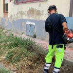 Sciacca, al via interventi di scerbatura nei quartieri