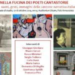 Nella fucina dei poeti cantastorie: parole, suoni, gesti, immagini della canzone narrativa italiana